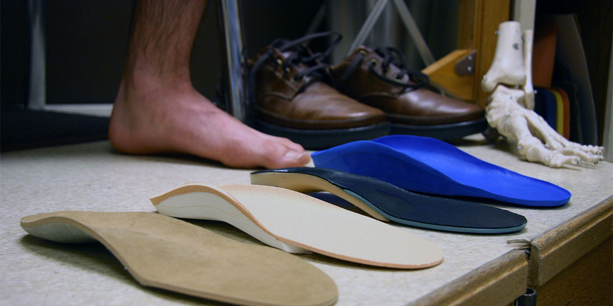 Custom Orthotics at Foot Foundation