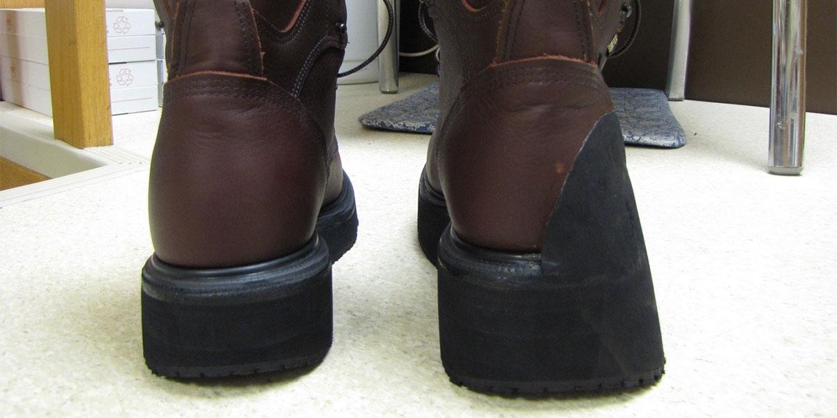 Shoe Modifications at Foot Foundation